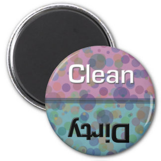 Dotty Dishwasher Clean-Dirty Magnet
