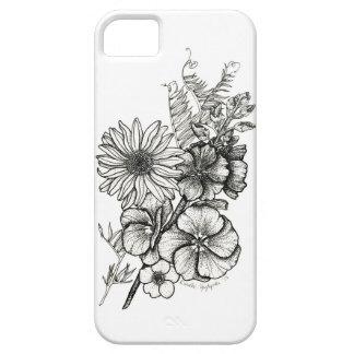 Dotwork Flowers Art Phone Case