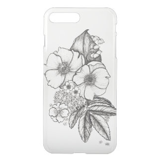 Dotwork Wild Roses Phone Case