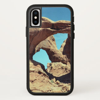 Double Arch with Blue Sky iPhone X Case