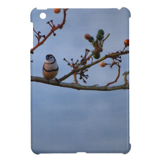 Double-barred finch on branch iPad mini covers