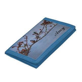 Double-barred finch wallet