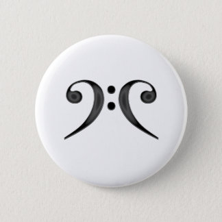 Double Bass 10X10 2 Inch Round Button