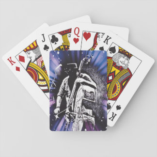 Double Bass - Abstract Design Playing Cards