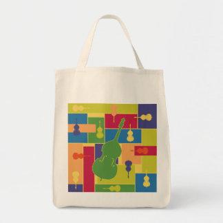 Double Bass Colorblocks Bag