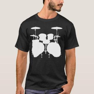 Double Bass Drumset - Dark T-Shirt