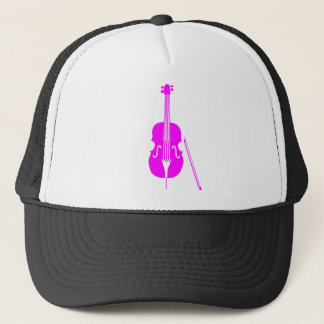 Double Bass - Magenta Trucker Hat