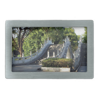 Double bridges, Guilin, China Belt Buckle
