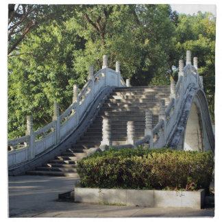 Double bridges, Guilin, China Napkin