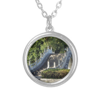 Double bridges, Guilin, China Silver Plated Necklace