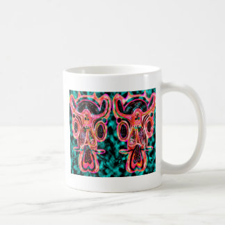 Double Bull  - Red Energy Party Animal V2 Classic White Coffee Mug