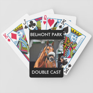 Double Cast by Fleetphoto Bicycle Playing Cards