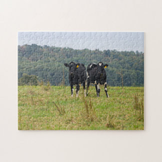Double Cattle Troube Jigsaw Puzzle