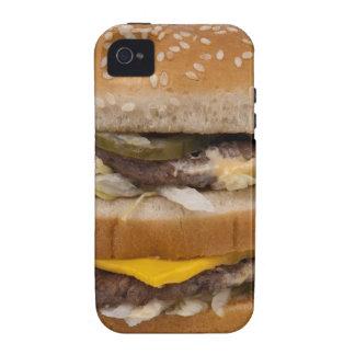 Double Cheese Burger Delite Case-Mate iPhone 4 Case