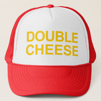 Double Cheese Trucker Hat