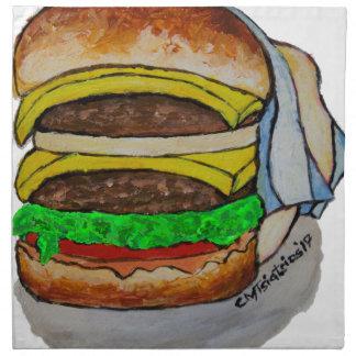 Double Cheeseburger Napkin