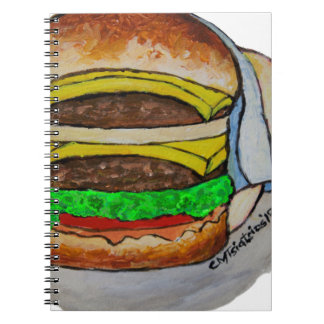 Double Cheeseburger Notebook