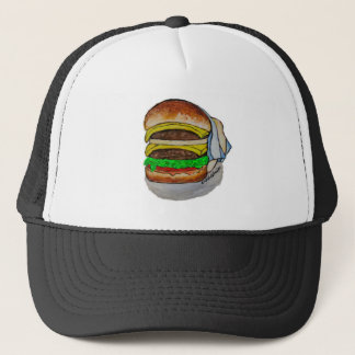 Double Cheeseburger Trucker Hat