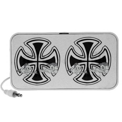 Double Crossed iPhone Speakers