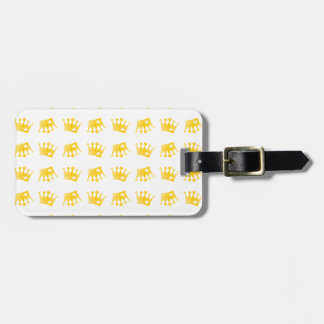 Double Crown Pattern Luggage Tag