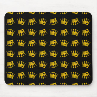 Double Crown Pattern Mouse Pad