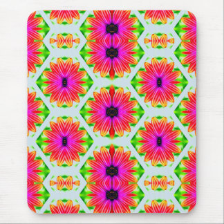 ~ Double Daisies Fractal ~ Mouse Pad