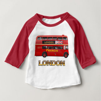 Double-Decker Bus - Custom Tee Shirt