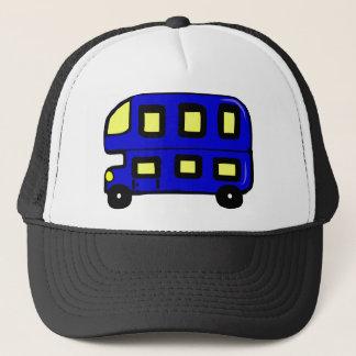 Double Decker Bus Trucker Hat