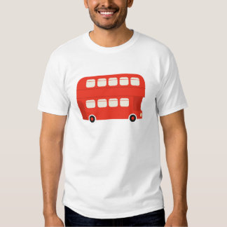 Double Decker Bus Tshirts