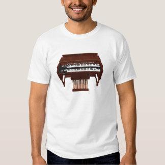 Double Decker Organ: 3D Model: Tee Shirts