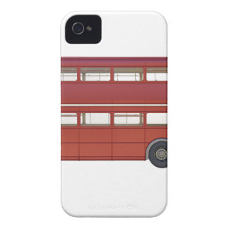 Double Decker Red Bus iPhone 4 Case