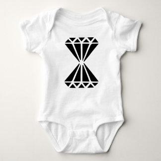 Double Diamond Baby Bodysuit