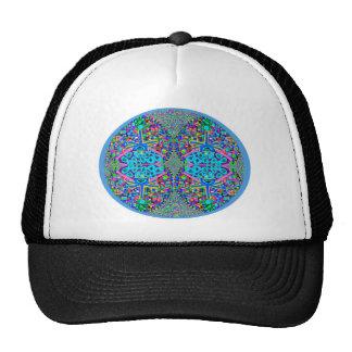 Double Diamond Blue Hearts V6 Trucker Hat