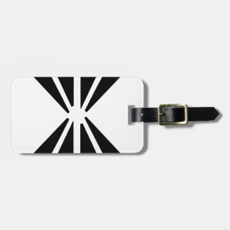 Double Diamond Luggage Tag