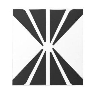 Double Diamond Notepad