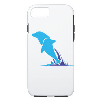Double Dolphin Phone Case