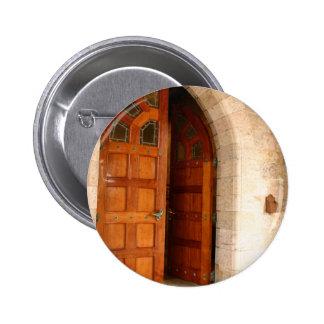 Double Door 2 Inch Round Button