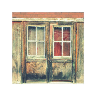 Double Doors Canvas Print