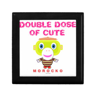 Double Dose Of Cute-Cute Monkey-Morocko Gift Box