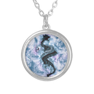 Double Dragon 4 Silver Plated Necklace