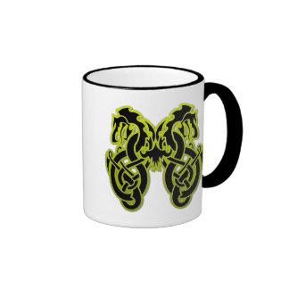 Double Dragon Coffee Mugs