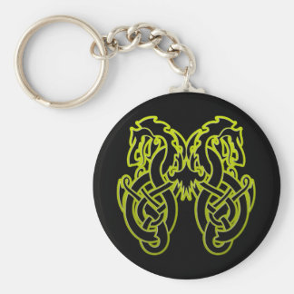 Double Dragon Keychain
