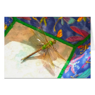 Double dragonfly card