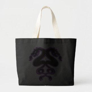 Double Dragons Jumbo Tote Bag