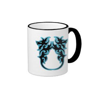 Double Dragons Ringer Mug