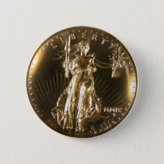 double Eagle face 2 Inch Round Button
