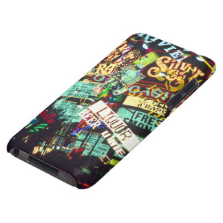 Double exposure, casino signs, Las Vegas, iPod Touch Covers