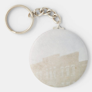 Double Exposure Fun in Washington, Iowa Basic Round Button Keychain
