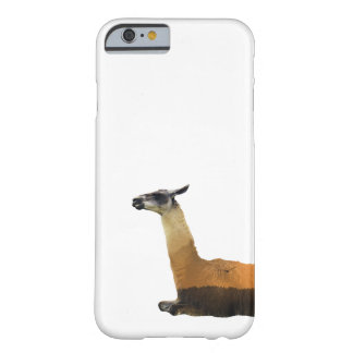Double Exposure Llama Barely There iPhone 6 Case