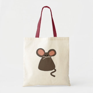 double face chargable mouse tote bag